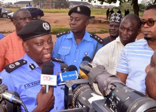 Edgal resumes duty as new Ogun Police Commissioner