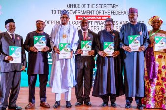 Corruption cause of many Nigerian problems, Buhari insists as he declares open SGF, ICPC organised summit