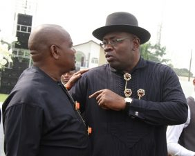 2 PDP governors fight, as Dickson says Wike promoting wicked ethnic supremacist agenda