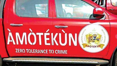 Is 'Amotekun' agenda now unveiling so fast?