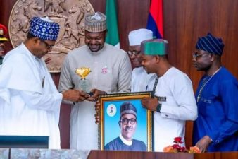 Buhari, meeting with youths, says leadership getting to them soon, advises them on positive attitude