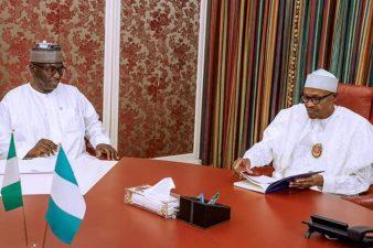 Gov AbdulRazaq briefs Buhari in State House over state of affairs in Kwara