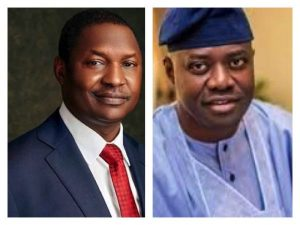 Restore sacked Local Govts' Chairmen now, AGF Malami tells Oyo Gov Makinde