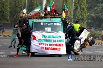 PDP's lack of decorum in political space an abiding threat to Nigeria's nascent democracy, APC lashes at opposition over protest against Supreme Court