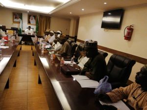 Photos: NAHCON boss, Zikrullah Hassan, at Hajj 2020 preparatory meeting in Makkah