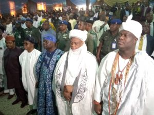 ROYALTY: Sultan of Sokoto in Osun, where cultural approach to national security came to discourse