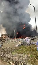 Buhari, APC condole with victims of Abule Ado explosion