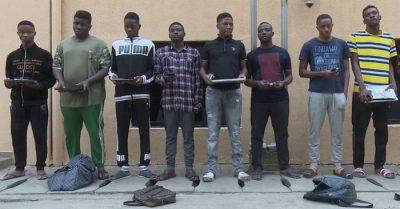 EFCC names Archiobong, Ikechukwu, Lucas, Anifowose, among list of 9 arrested Abuja internet fraudsters
