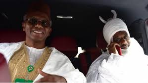 Sanusi, deposed Emir of Kano, leaves Awe with Kaduna Governor, El-Rufai