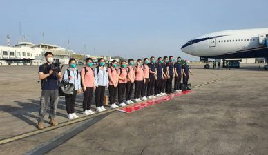 Finally, medical team from China arrives Nigeria
