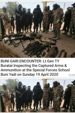Buratai hails as troops kill 105 terrorists in Buni Gari encounter