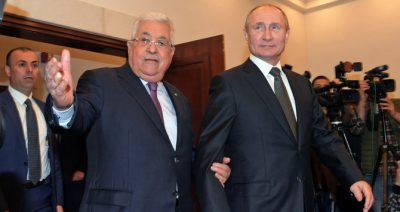 Palestinian leaders 'open to talks with Israel via Moscow', say they trust President Putin