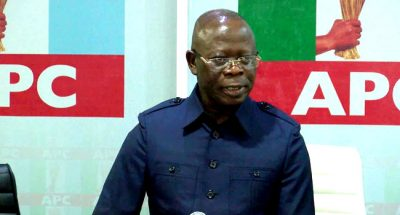 Finally, Oshiomole's APC disqualifies Obaseki from Edo primary election