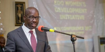Edo 2020: Obaseki finally exposes Oshiomhole 'the biggest betrayal', as he submits form to contest,  tells real reason he visited Tinubu