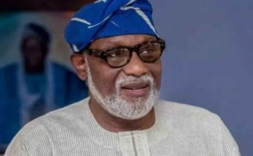 I'm in the race for APC primary, Governor Akeredolu assures supporters