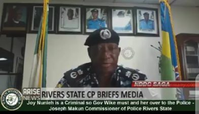 Nunieh lied claiming we weren't aware of security operatives' presence in her house – Rivers CP