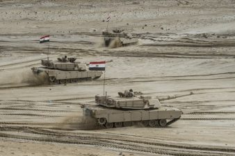 Egypt carries out military drill near Libya border