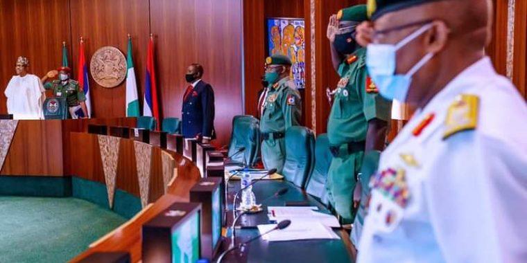 Buhari orders overhaul of Nigeria's security architecture