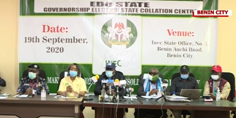 #EDODECIDES: Updates from start till now, 12 LG results: Obaseki leads in 10, Ize-Iyamu leads in 2 – Announced by INEC