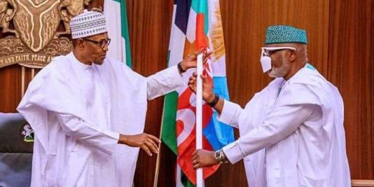 SUPREME COURT VICTORY: President Buhari congratulates Gov Akeredolu, urges more dedication to people-evelopment