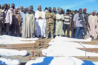 Farmers killed by insurgents buried amid tears, wailing in Borno