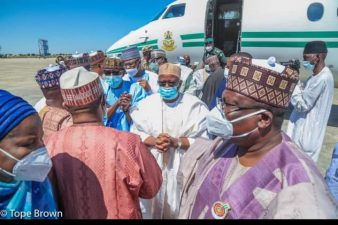 High-powered Govt delegation visits Maiduguri, as President Buhari vows to end terrorism