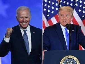 Biden projected to win Wisconsin and Michigan, as Trump claims 2020 election is being stolen