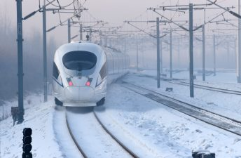 New high-speed railway line more advanced, eco-friendly
