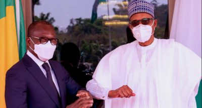 We will continue to work with our neighbours, Buhari tells President Talon