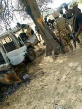 ISWAP terrorist commander, fighters on revenge mission to Damasak fell to Army's fire power, crushed