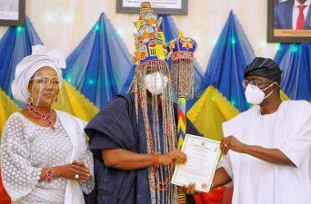 WAKE UP: Reminisence of Oba Ogunsawo's installation as Alara of Ilara Epe, Lagos State