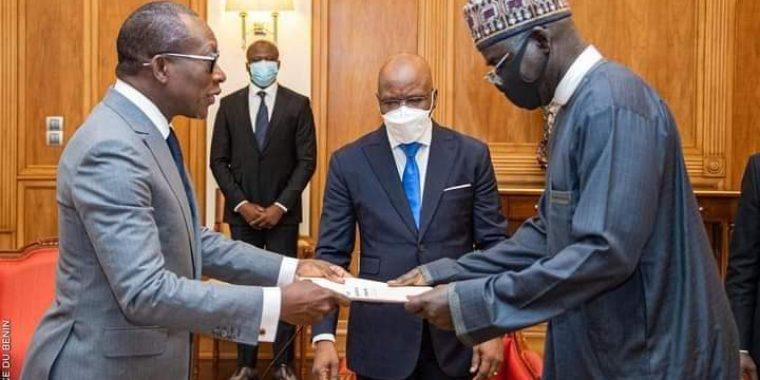 PHOTO NEWS: Amb. Buratai meets President Patrice Talon of Republic of Benin