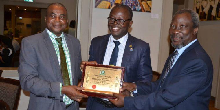 Crescent Varsity PR Manager, Idris Katib, conferred with CeProd Fellowship Award