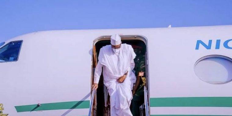 President Buhari arrives Riyadh for Future Investment Initiative Summit